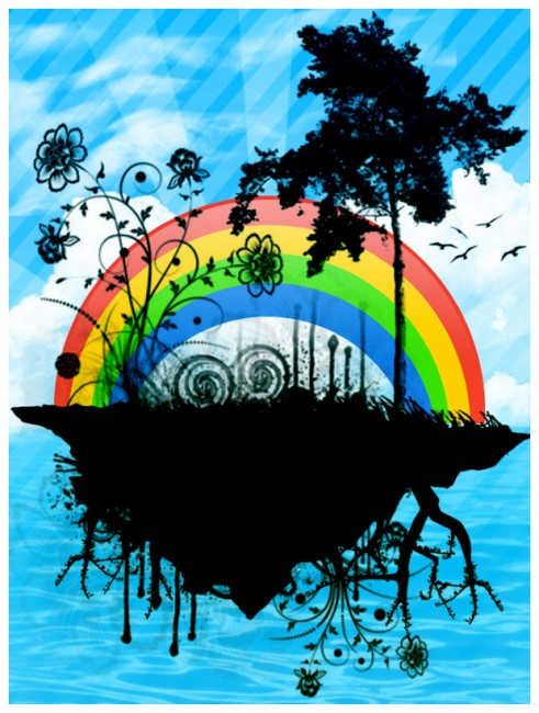 21 Beautiful Rainbow Inspirations
