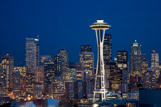 Seattle City Lights 1 by photoboy1002001 550x366 Modern Photography: City Lights