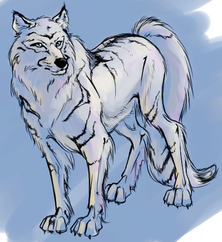 Snow Wolf by AlisaChristopher 42 Well Painted Wolfs