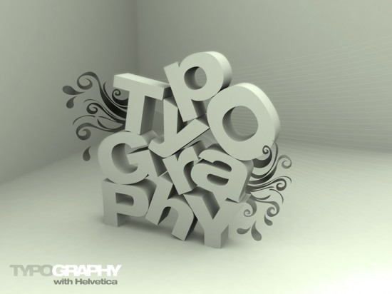 TYPOGRAPHY_with_Helvetica_by_sarakhanoom