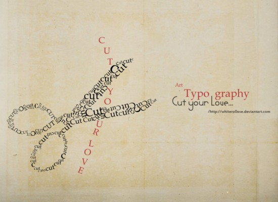 Typography_by_whiteRo0ose
