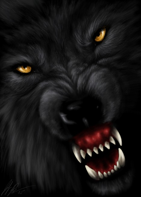 Wolf  s Reprisal by jocarra 468x650 42 Well Painted Wolfs