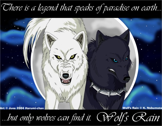 Wolf s Rain 550x429 42 Well Painted Wolfs