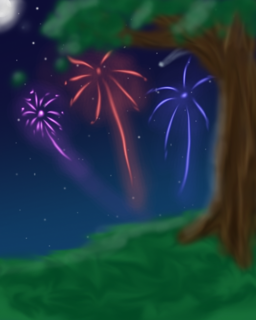 24a4301d8de34a0060e924c508225921 520x650 46 Inspirational Fireworks That Are Done In Photoshop
