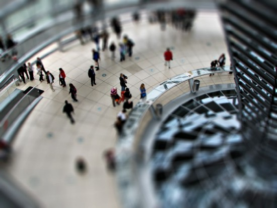 Berlin Bundestag Tilt Shift 550x412 47 Examples Of Tilt   Shift Photography