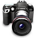 Camera, Canon, Digital camera, Photography  icon