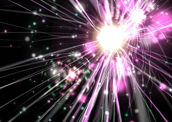 Celestial Fireworks by MistressAquarius 550x392 46 Inspirational Fireworks That Are Done In Photoshop