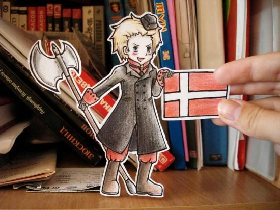 Denmark - paper Child