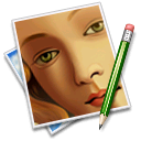Face, Image, Pen, Picture icon