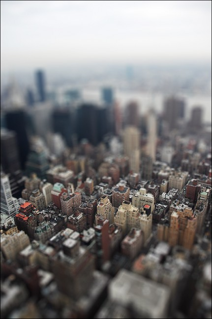 Fake Tilt Shift New York 431x650 47 Examples Of Tilt   Shift Photography