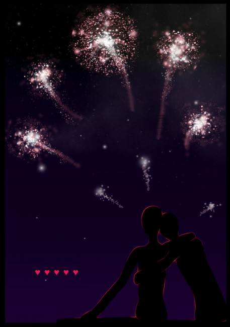 Fireworks by CarnivalChild 457x650 46 Inspirational Fireworks That Are Done In Photoshop