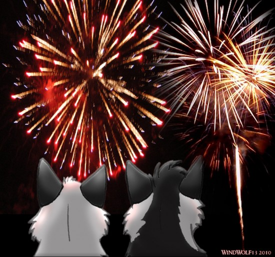 Fireworks by WindWolf13 550x514 46 Inspirational Fireworks That Are Done In Photoshop