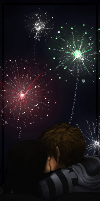 Fireworks by mutch2manga 325x650 46 Inspirational Fireworks That Are Done In Photoshop