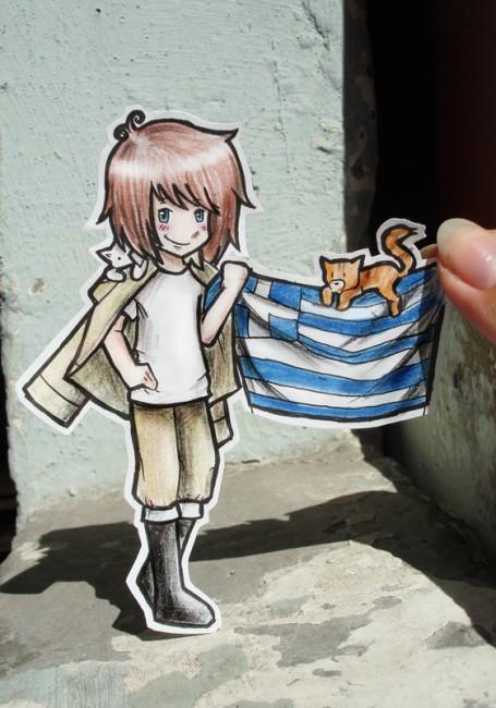Greece - Paper Child