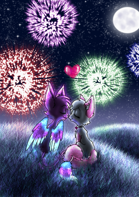 I see fireworks by Knightmere 460x650 46 Inspirational Fireworks That Are Done In Photoshop