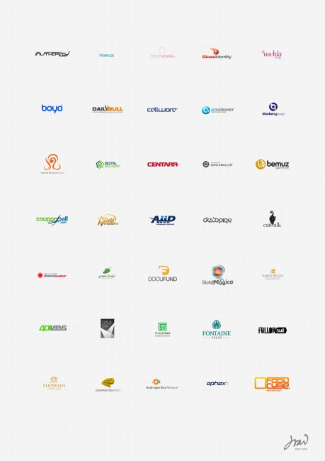 1100+ Well Designed Logos For Your Inspiration