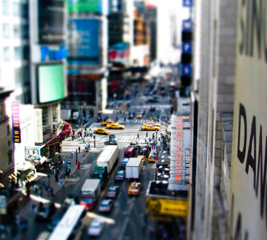 New York Miniature 550x495 47 Examples Of Tilt   Shift Photography
