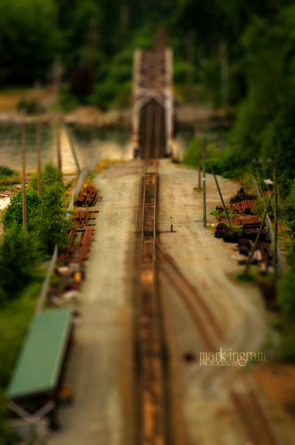 Rail Bridge Tilt Shift 430x650 47 Examples Of Tilt   Shift Photography