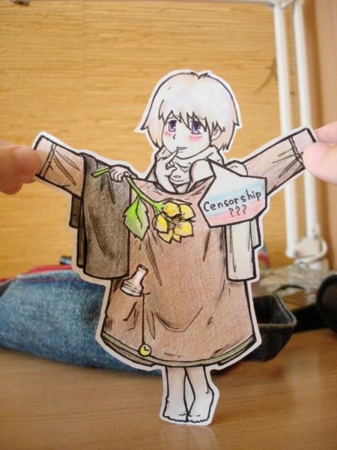Russia - paper Child 2