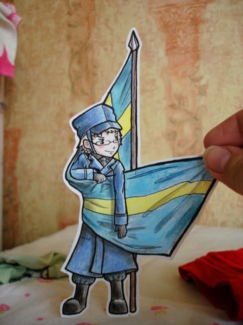 Sweden - paper child