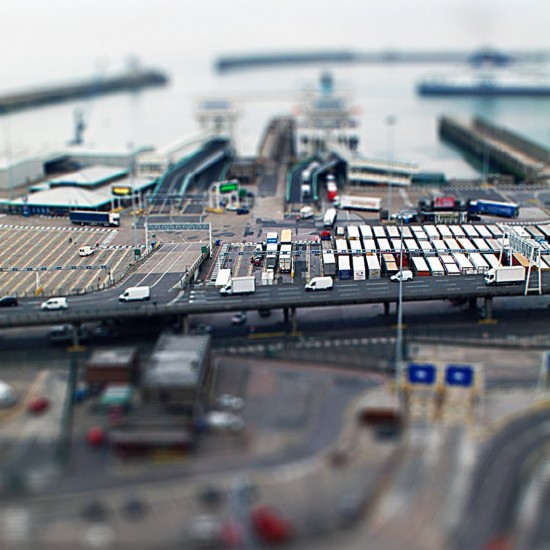 Toy Docks II Tilt Shift 550x550 47 Examples Of Tilt   Shift Photography
