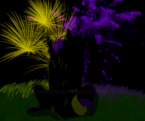 c764c08c551af079242c4309cda37498 550x460 46 Inspirational Fireworks That Are Done In Photoshop