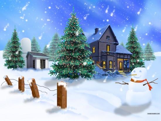 33 Very Creative Christmas Wallpapers