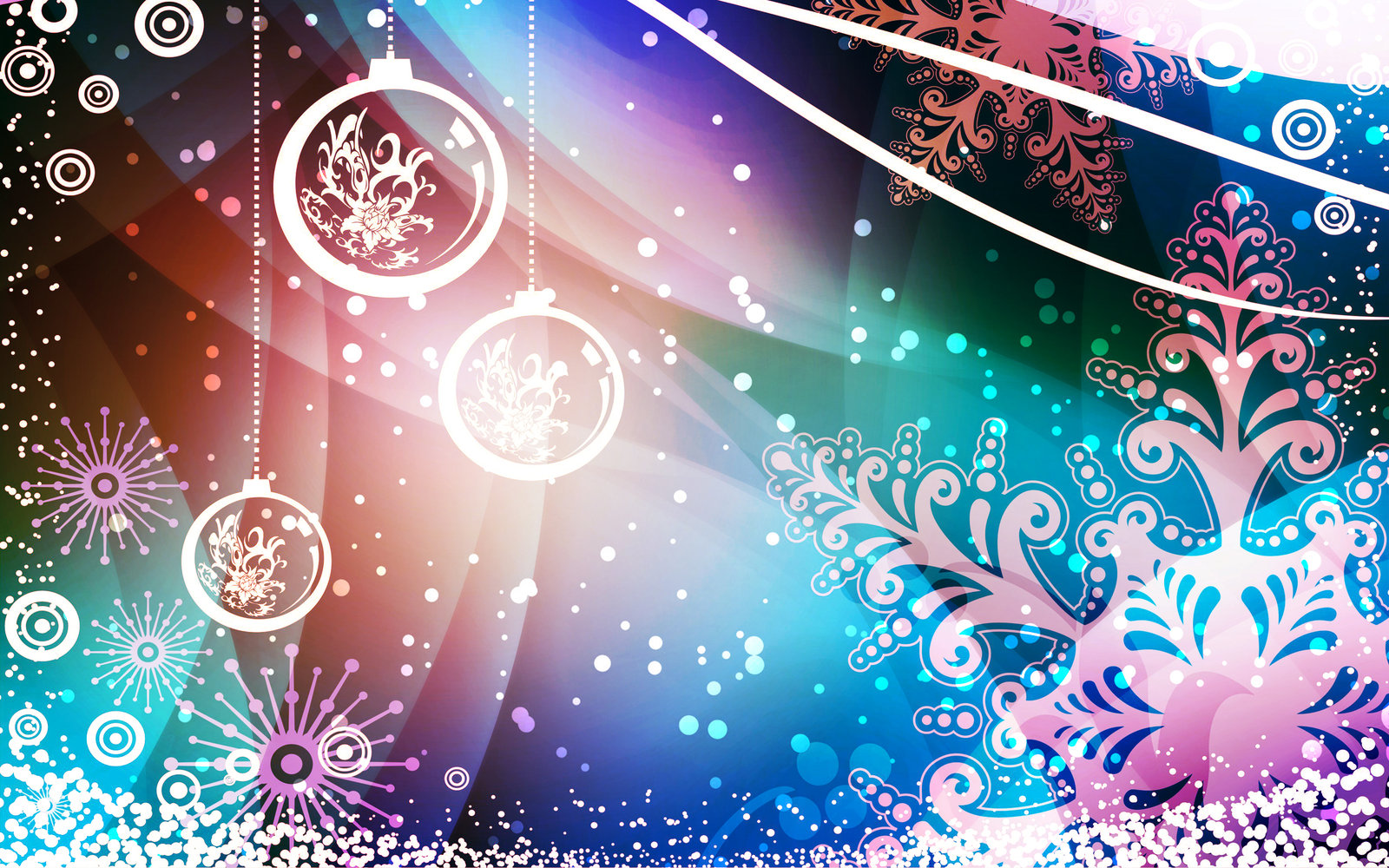 33 Very Creative Christmas Wallpapers
