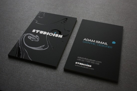 studioish business cards