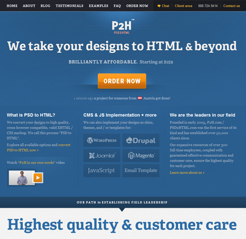 Looking for top-notch PSD to HTML conversion services?
