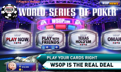 Best Design WSOP Poker Apps