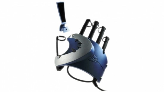 p5 gaming glove 550x311 Crazy looking Game Controllers
