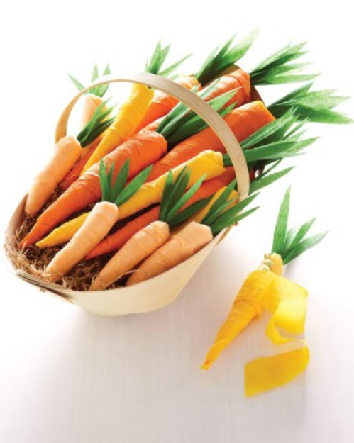 crepe-paper-carrots
