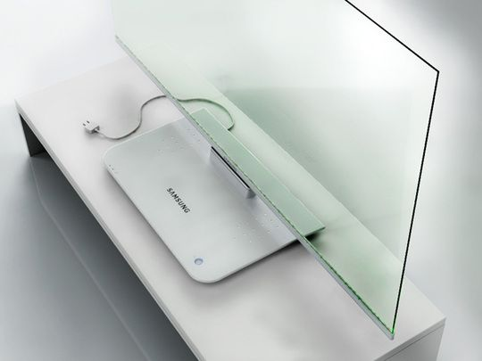 Transparent-Television